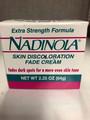 Nadinola Skin Discoloration Fade Cream (Extra Strength Formula) Skin lightening - front